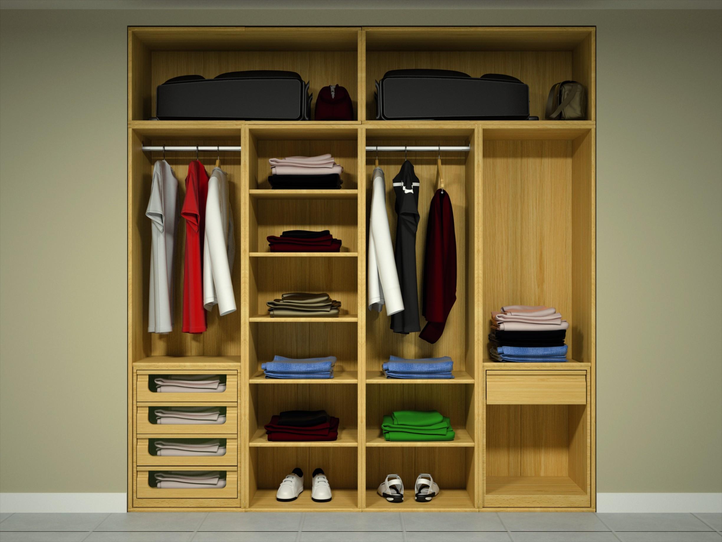 Modulos para armarios empotrados modulos armarios - Modulos interior armario ...